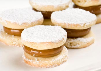 alfajores from South America